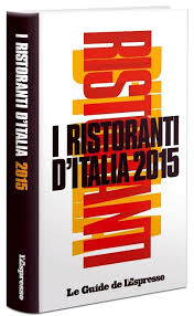 ESPRESSO – THE RESTAURANTS OF ITALY 2015