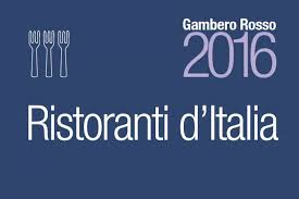 GAMBERO ROSSO – GUIDE TO THE BEST RESTAURANTS OF ITALY 2016