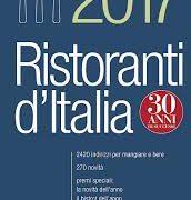 Gambero Rosso 2017 – Guida ai migliori ristoranti d'Italia