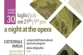 A night at the opera Narnia Festival in Amelia (Tr)