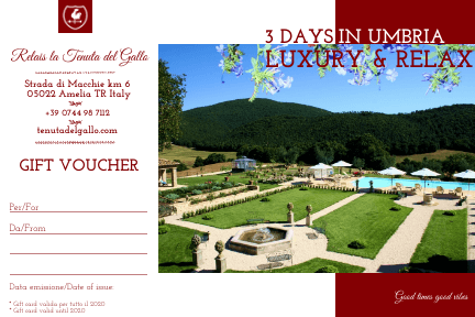 3 days in umbria relais amelia