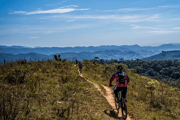 Percorsi mountain bike Umbria Tenuta del gallo