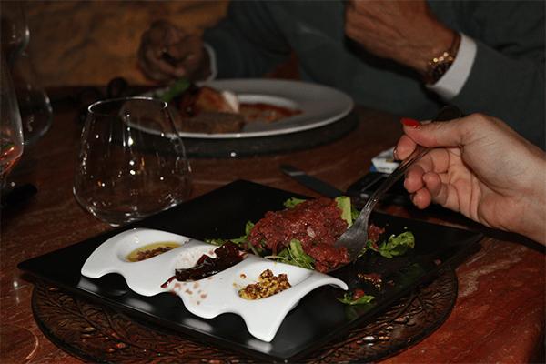 Ristorante tenuta del gallo piatti