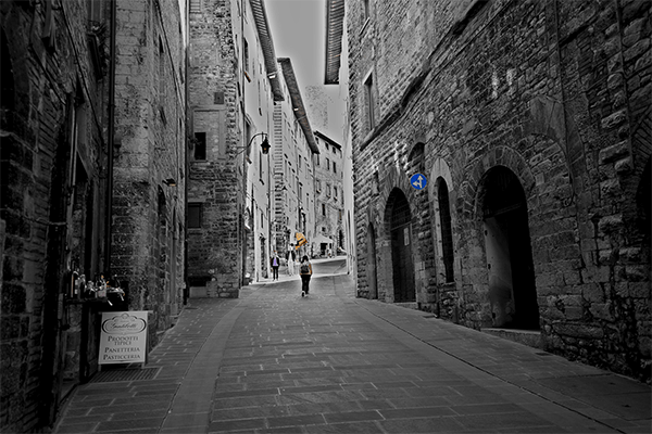 Vicoli itinerari Umbria