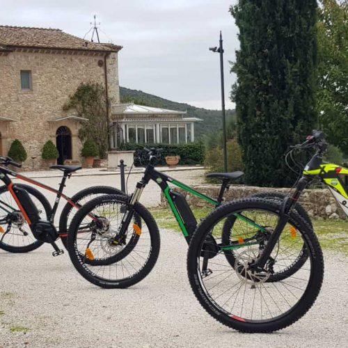 Biciclette elettriche Tenuta del Gallo Amelia