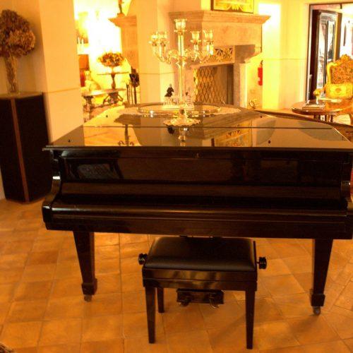 pianoforte della tenuta del gallo relais
